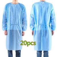 Buy cheap Antibacterial Disposable Non Woven Gown , Disposable Medical Workwear product