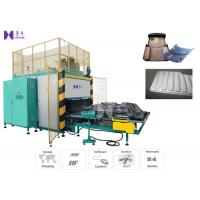 Buy cheap Automatic HF Floor Mat Welding Machine Slide Tray Style 15KW 3-5 Pcs / Min from wholesalers