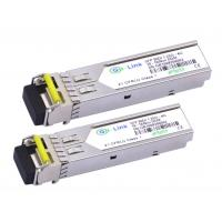 Buy cheap Compatible HP SFP BIDI Optical Transceiver Module Single mode 1.25G 80KM from wholesalers