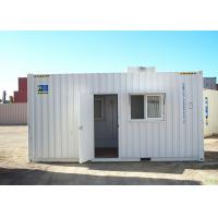 Buy cheap Recycle Eco Prefab Container Homes  Flat Pack Commercial Buildings For Guard House from wholesalers