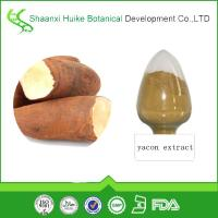 Buy cheap natural plant extract yacon root extract powder with fructooligosaccharides fos from wholesalers