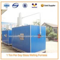 Buy cheap Moveable Gas Glass Melting Furnace from wholesalers