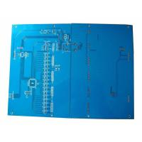 Buy cheap FR4 1.6mm Blue Double Side PCB Manufacturing and Assembly Circuit Board Printing from wholesalers