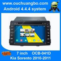 Buy cheap Ouchuangbo car dvd gps stereo Kia Sorento 2010-2011 android 4.4 S160 support iPod USB 1080 from wholesalers