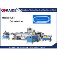 Buy cheap Easy Operate Medical Tubing Extrusion Machinery Manufacturer For PVC / PE Pipe from wholesalers