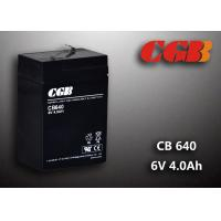 Buy cheap CB640 No Leaking Sealed Lead Acid Battery 6v 4ah , High Efficiency Ups Battery from wholesalers