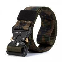 Buy cheap Mens Durable Outdoor Alloy Cobra Buckle Army Waist Belts Military Tactical Nylon Fabric Belt from wholesalers
