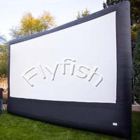 Buy cheap rear projection inflatable movie screen from wholesalers