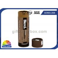 Buy cheap CMYK Printing Round Kraft Paper Packaging Tube For Cosmetics / Skincare Products from wholesalers