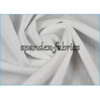 Buy cheap White Weft Knitted Super Thin Nylon Spandex Fabric With Shiny Finish from wholesalers