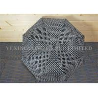 Buy cheap 21 Inch Auto Open Close Umbrella 3 Fold Blue Color With Logo Printing from wholesalers