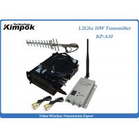 Buy cheap 30KM Long Range Wireless Transmitter and Receiver 1.2Ghz  4 Channels Video Sender from wholesalers