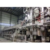 Buy cheap Two Fourdrinier Wire Kraft Paper Making Machine Multi Dryers Right Hand Type from wholesalers