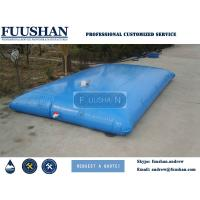 Buy cheap FUUSHAN Soft Foldable Canvas Waterproof PVC Water Tank for Garden Irrigation Use from wholesalers