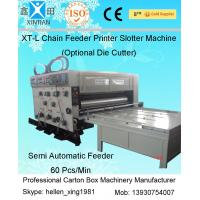 Buy cheap Gear Pumps Auto Chain Feeding Flexo Carton Printing Machines With Grinded Surface from wholesalers