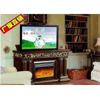 Buy cheap Decorative Fake Frame Heating Electric Fireplaces TV Stands Free Standing from wholesalers