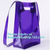 Buy cheap Backpack Shoulder Biodegradable Shopping Bags Promotional Waterproof Cosmeti Vinyl from wholesalers