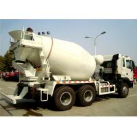 Buy cheap Howo Concrete Mixer Truck 336hp with 8CBM - 16CBM capacity , Access ladder from wholesalers