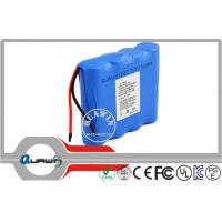 Buy cheap Electric Tool 3.7v 12000mah 18650 Lithium Iron Battery Packs , 1s4p from wholesalers