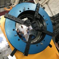 Buy cheap 3 Jaw 4 Jaw Type Self Centering Positioner Chuck Welding Long Life from wholesalers