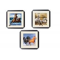 Buy cheap Office / Hotel Decoration Animal Picture 5d Lenticular Picture With Frame from wholesalers