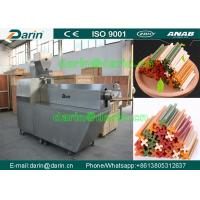 Buy cheap Singe Screw  Dog Food Extruder Feed Pellet Production Line with CE ISO certificate from wholesalers