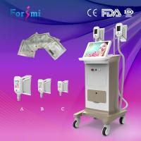 Buy cheap High efficient no pains no risks cryolipolysis fat freezing slimming machine handle changeable 6 EVM control from wholesalers
