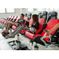 Buy cheap 5D Luxury Movie Theater Seat Electric Hydraulic And Pneumatic Mobile Seats product