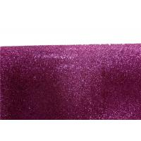 Wall Paper Sparkle Glitter Fabric , Diy Decoration PVC Glitter Fabric