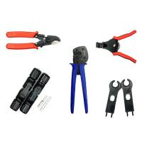 Buy cheap 5 in 1 easy to Use Solar PV Tool Kit for 26-10AWG Terminal Crimping PV connector from wholesalers