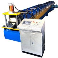 Buy cheap Water Gutter Rolling Forming Machine Dx51 Half Round 8 - 10m / Min Speed from wholesalers