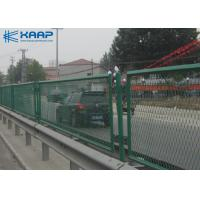 Buy cheap Flattened Woven Wire Mesh , Weld Mesh Panels PE Material Without UV from wholesalers