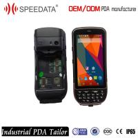 Buy cheap WiFi GPS 4G Handheld Pocket Barcode Scanner Android 5.1 OS Industrial PDA Data Collection from wholesalers