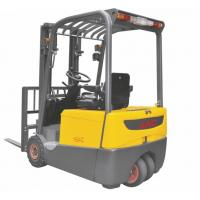 Buy cheap Battery Powered Electric Forklift Truck Three Wheel Type 1.6 Ton One Rear Driving Wheel 1600Kg Alternating Current from wholesalers