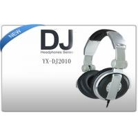 Buy cheap  Professional Large Diaphragm Stereo DJ Headphones for PC Computers product