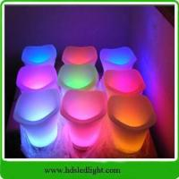Buy cheap Illuminated led ice bucket with rechargeable battery from wholesalers