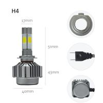Buy cheap Energy Saving Led Headlight Conversion Kit For Cars V8 H4 40 Watt 4000LM from wholesalers