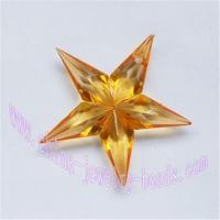 Buy cheap Supply China simply acrylic plastic star jewelry pendants beads from wholesalers