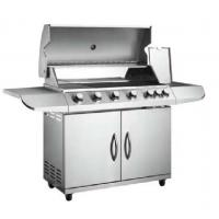 Buy cheap 6 main burner and 1 side burner gas grill barbecue from wholesalers