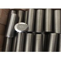 Buy cheap High Precision Nickel Alloy Fasteners DIN933 DIN934 DIN125 Bolt Nut Washer Stud from wholesalers