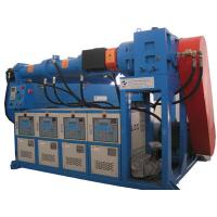 Buy cheap High output 320kg / h cold feed rubber extrusion machine of vaccum pump 2.2kw from wholesalers