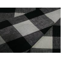 Buy cheap 55/45 LINEN COTTON BLENDED FABRIC YARN DYED CHECKS  CWT #3232 from wholesalers