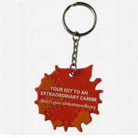 Buy cheap Unique PVC hedgehog key tag from wholesalers