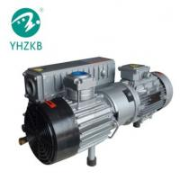 Buy cheap XD-302 7.5KW 50Pa cast iron material color grey single stage oil sealed rotary vane vacuum pump from wholesalers