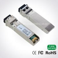 Buy cheap 10G DWDM Optical SFP+ Optical Transceiver Module Long Distance For 40KM from wholesalers