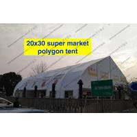 Buy cheap Heat Resistant TFS Tent Easy Assembled With Inflaming Retarding White PVC Fabric from wholesalers