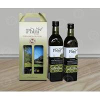 Buy cheap Take-away Corrugated Cardboard Wine Box with Handle in 1,2 and 3 or 4 bottles from wholesalers