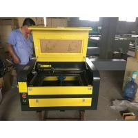 Buy cheap Desktop Laser Engraving Machine 400x600mm Working Area For Wood / Acrylic from wholesalers