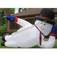 Buy cheap Customized Outdoor Inflatable Christmas DecorationsGaint Inflatable Snowman from wholesalers