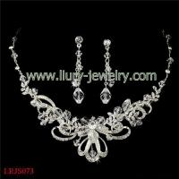 Buy cheap Luxurious Crystal Jewelry Set from wholesalers
